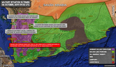 In Video: Houthis Crushing Positions Of Saudi-led Fores In Saudi Arabia's Najran Province