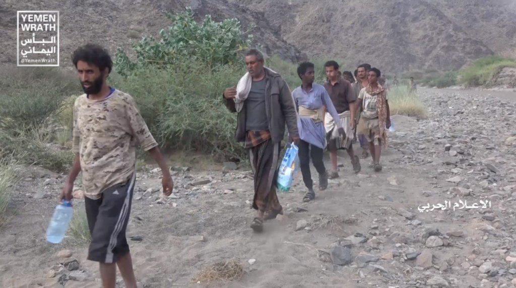 Photos, Video: Saudi-led Forces Surrender To Houthis En Masse