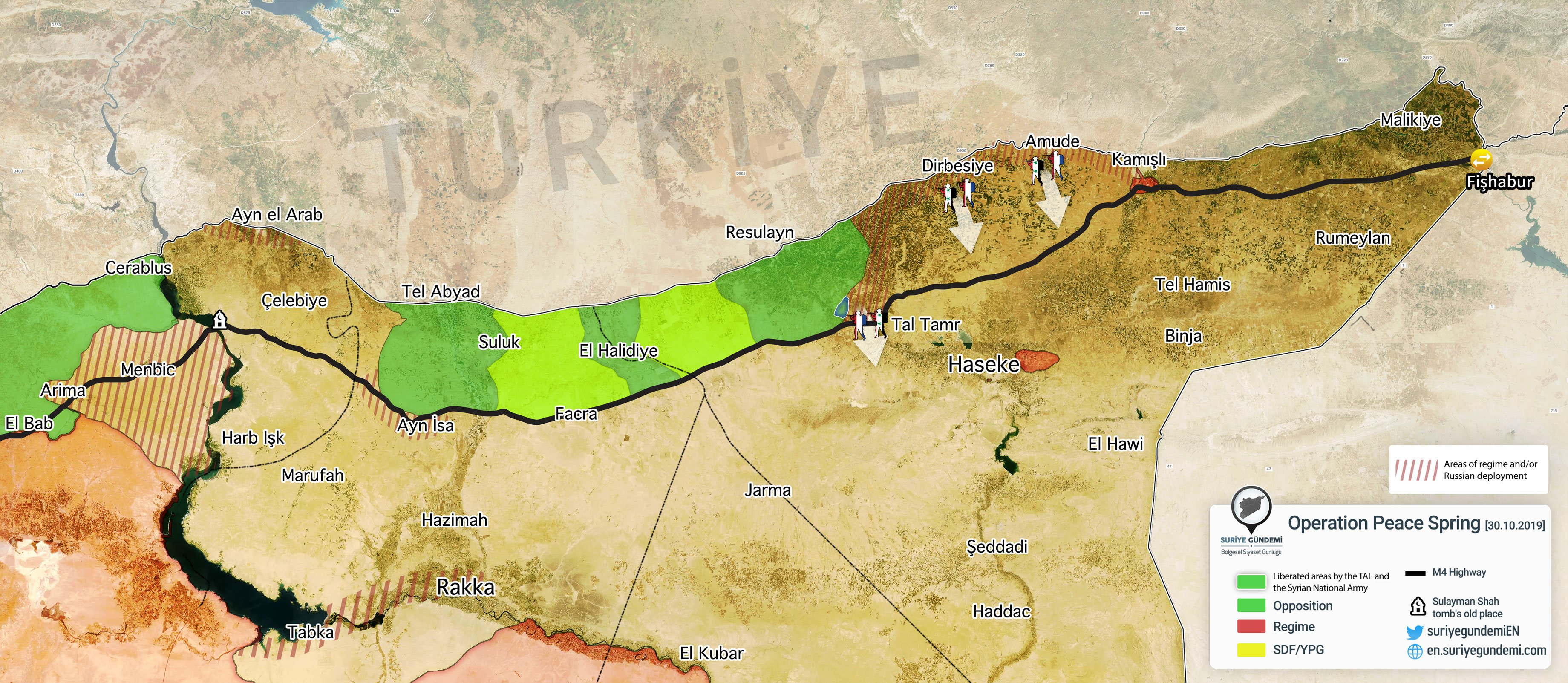 SDF Recaptures Five Villages South Of Ras Al-Ayn From Turkish-backed Militants