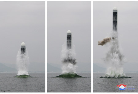 North Korea Tests Submarine-Launched Ballistic Missile For First Time Since 2016