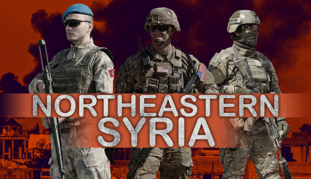 Turkish Operation In Northeastern Syria Is Coordinated With United States, Russia?