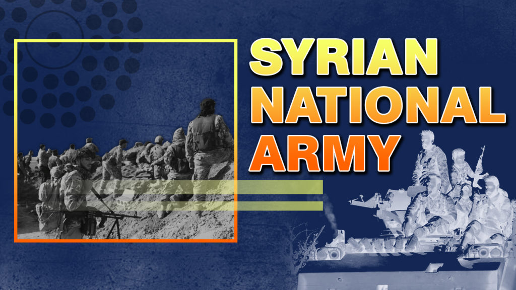 Turkey's Syrian National Army And Myth Of United Syrian Opposition