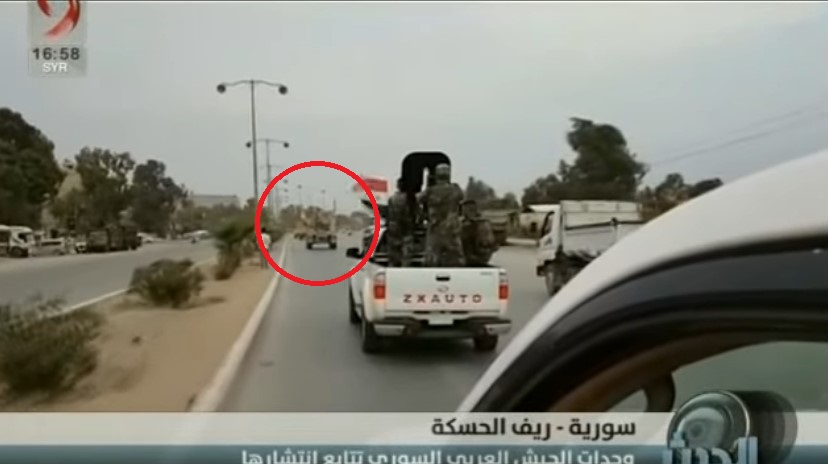In Video: Syrian Army Escorting US Troops Out Of Country