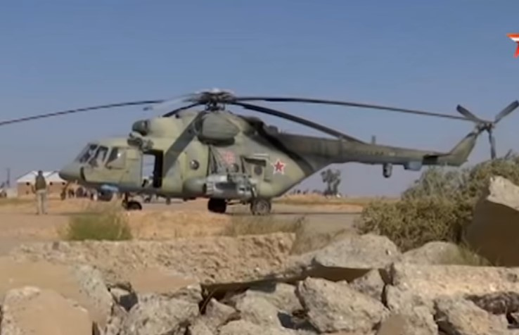 Russian Helicopters Arrive At Syrian Airbase Freed From US Military (Video)
