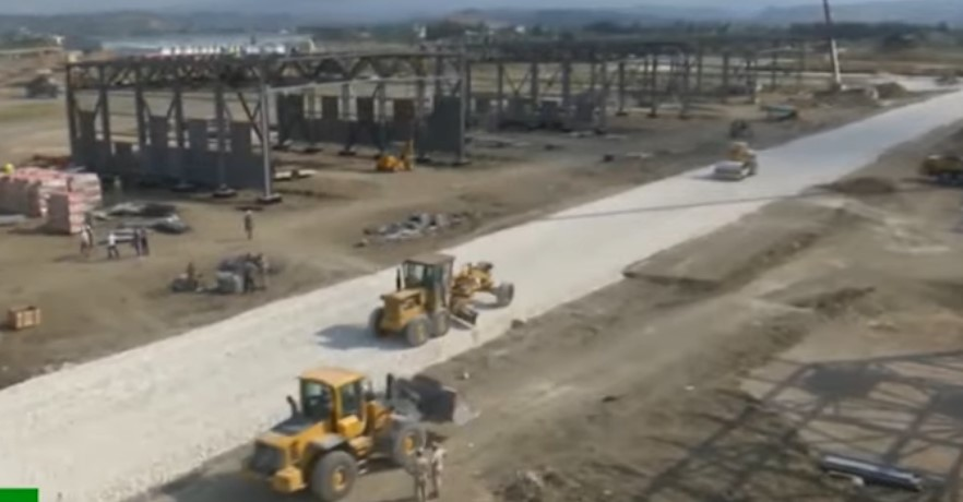 Russia Continues Large-Scale Construction Works At Hmeimim Airbase In Syria