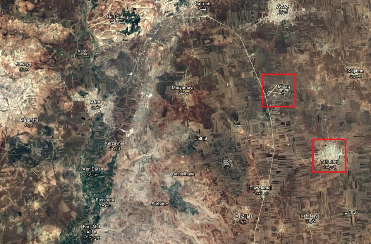 Turkish Military Shells Kurdish-held Positions East Of Occupied Afrin