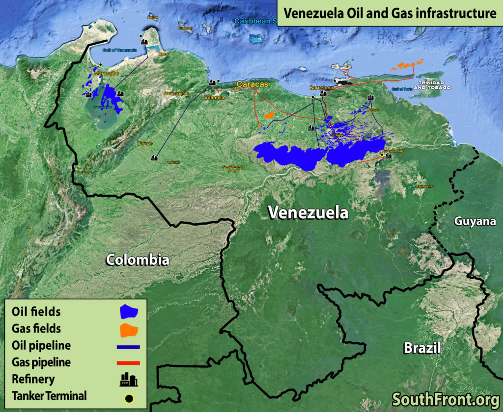 Venezuelan Oil And Gas Infrastructure (Map Update)