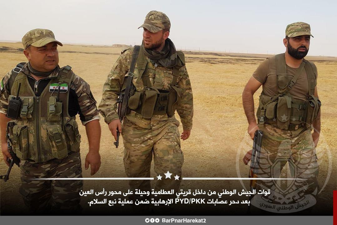 Turkish-Backed Militants Capture Eleven Villages Around Tell Abyad, Ras Al-Ayn (Photos)