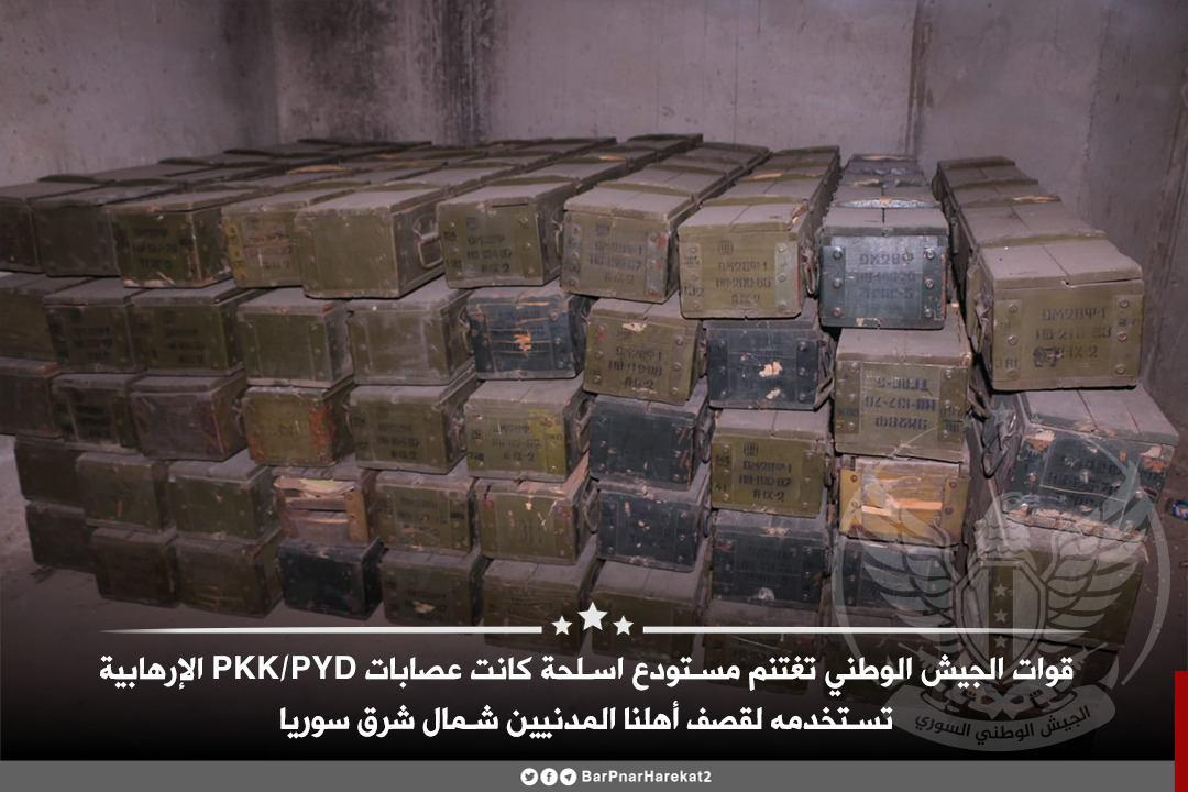 Turkish-Backed Militants Capture Large SDF Ammo Depot (Photos)