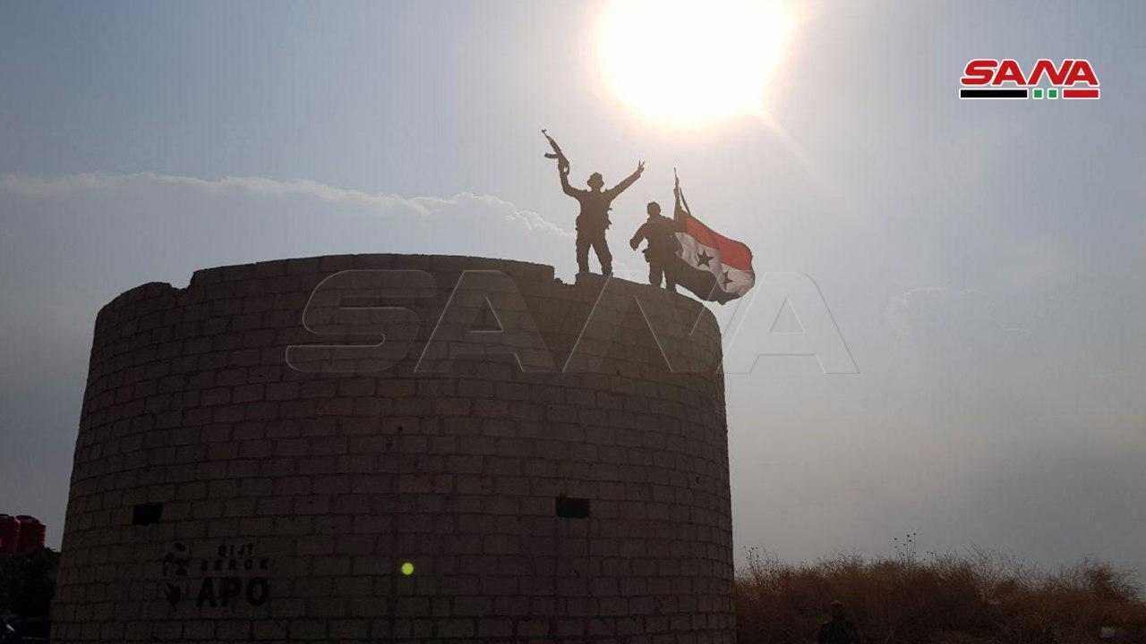Syrian Army Enters U.S. Base In Northern Al-Hasakah (Photos)
