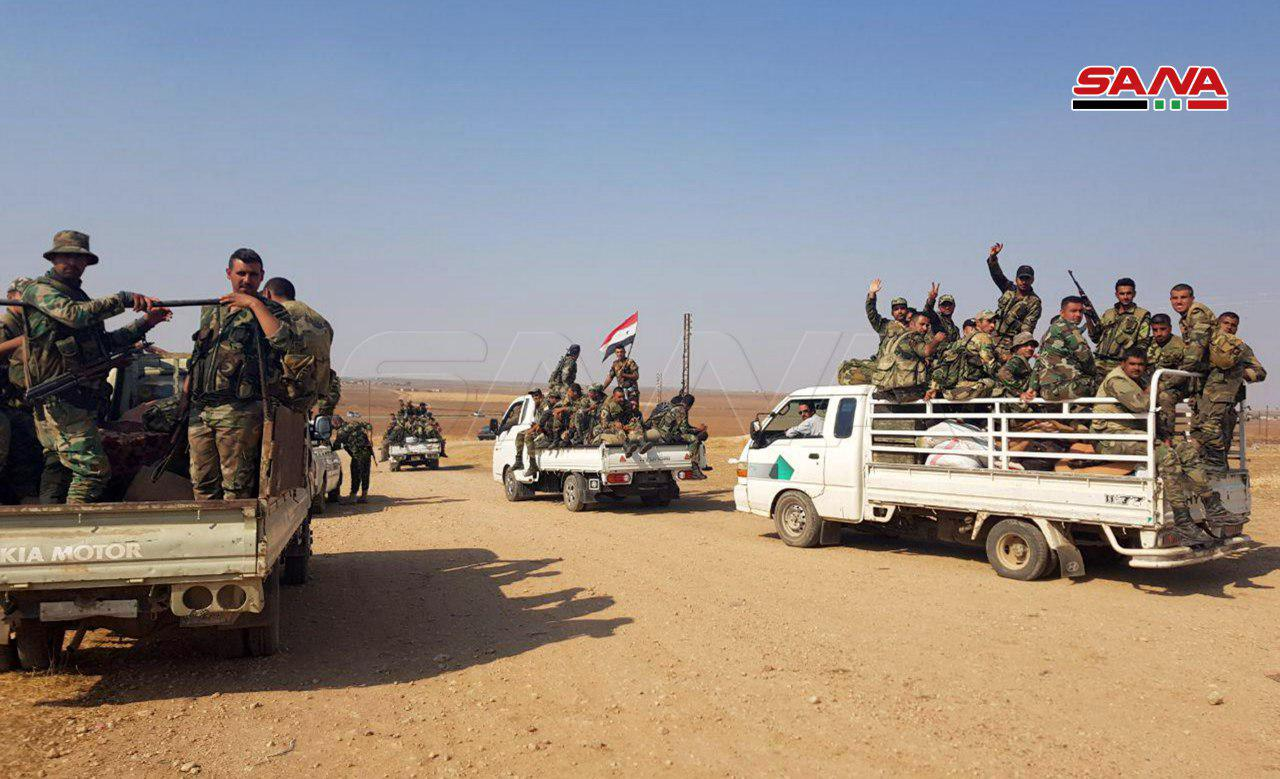Syrian Army Enters More Villages In Northern Al-Hasakah To Support SDF (Photos)