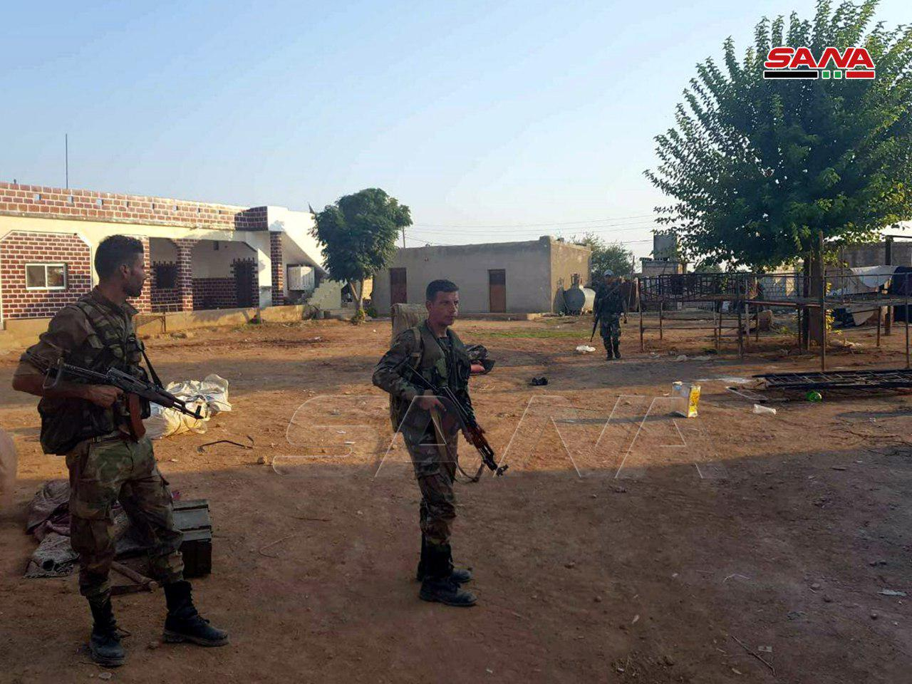 Syrian Army Reaches Turkish Border Near Ras al-Ayn (Photos)