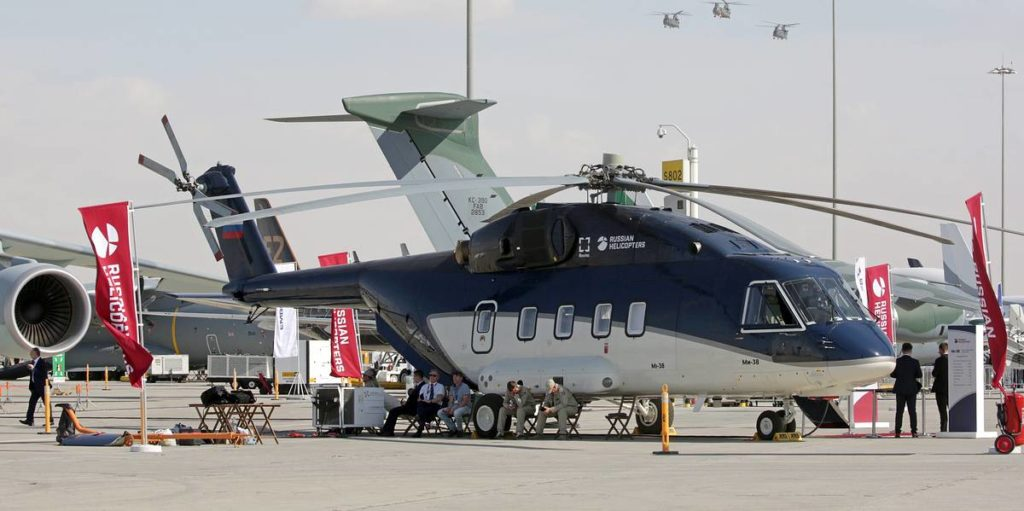 "Dubai Airshow 2019 Under the ""Pantsir"""