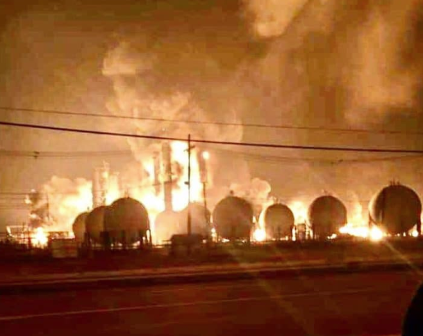 Massive Explosions Rock Texas Chemical Plant, Putting 16% Of North America's Rubber Production At Risk