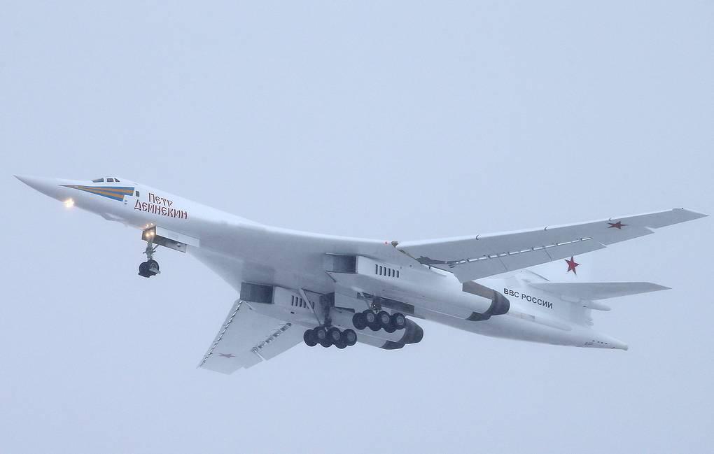 Russia's 1st Upgraded Tu-160M Strategic Bomber Enters Trials