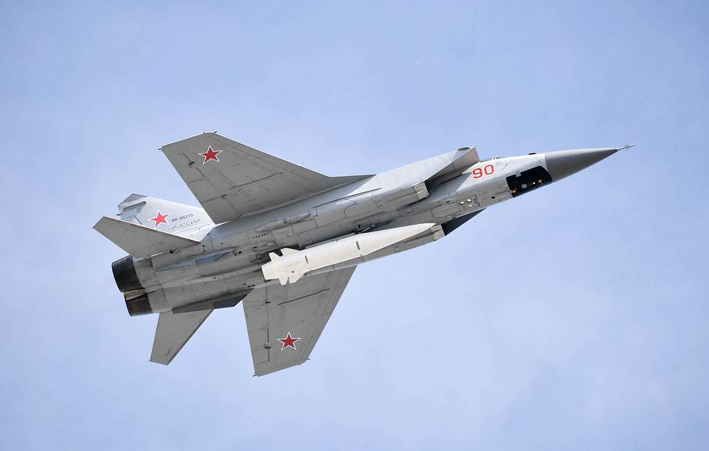 Russia Tested Kinzhal Hypersonic Missile In Arctic: Report