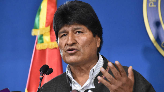 Evo Morales Says He Survived Assassination Attempt During Right-Wing Coup In Bolivia