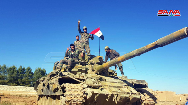 Syrian Army Reinforces Its Positions In Northern Hama, Deploys Battle Tanks (Photos)
