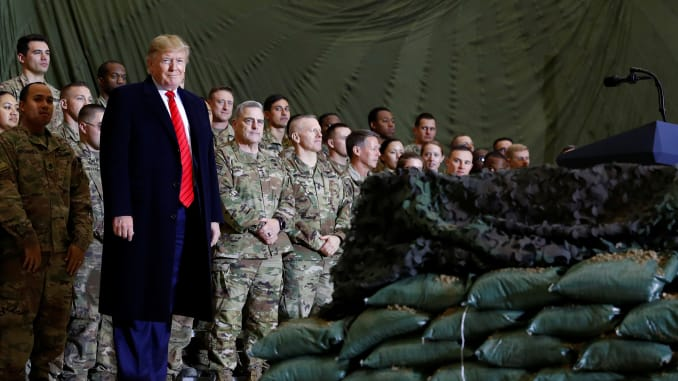 Trump's Secret Thanksgiving Visit And Afghan Stalemate