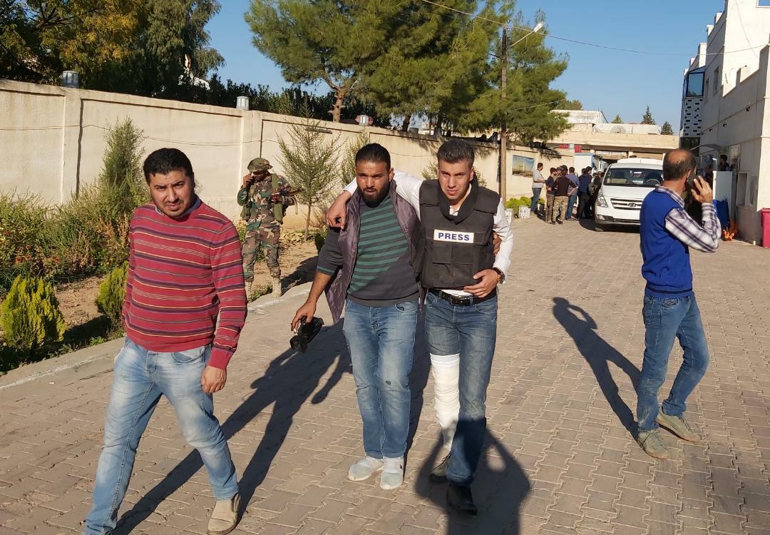 Turkish Battle Tank Shelled Syrian Journalists In Northern Al-Hasakah