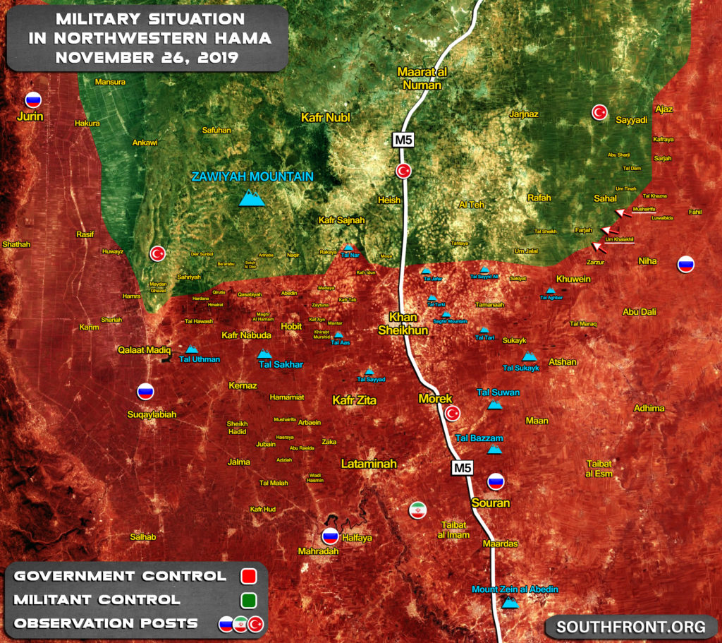 Syrian Army Is Storming Another Militant Strongpoint In Southern Idlib (Map Update)