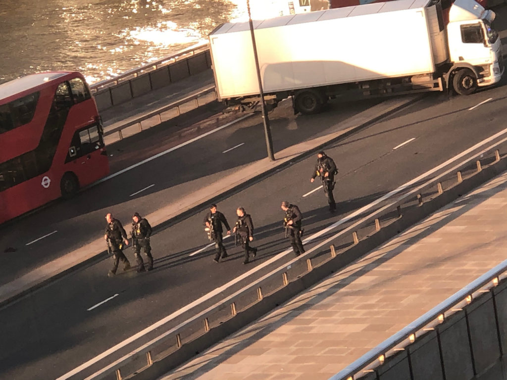 """Terror-Related"" London Bridge Attack Leaves 5 Casualties, One Suspect In Custody"