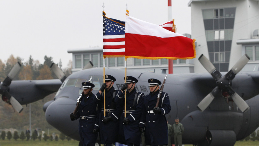 Preparations For Agressive War: US Military Presence In Poland To Be Increased Tenfold