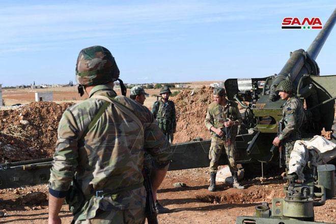 Syrian Army Strengthens Its Presence Near Manbij And al-Malikiyah (Photos)