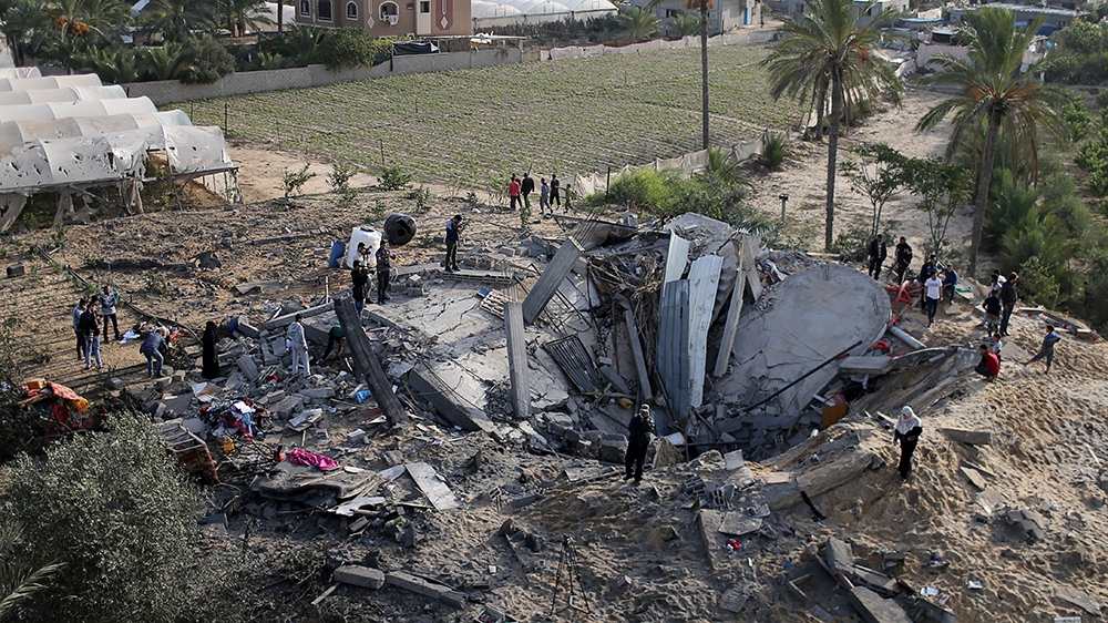 Gaza Ceasefire Reached After 48-Hour Escalation That Left At Least 32 Palestinians Dead