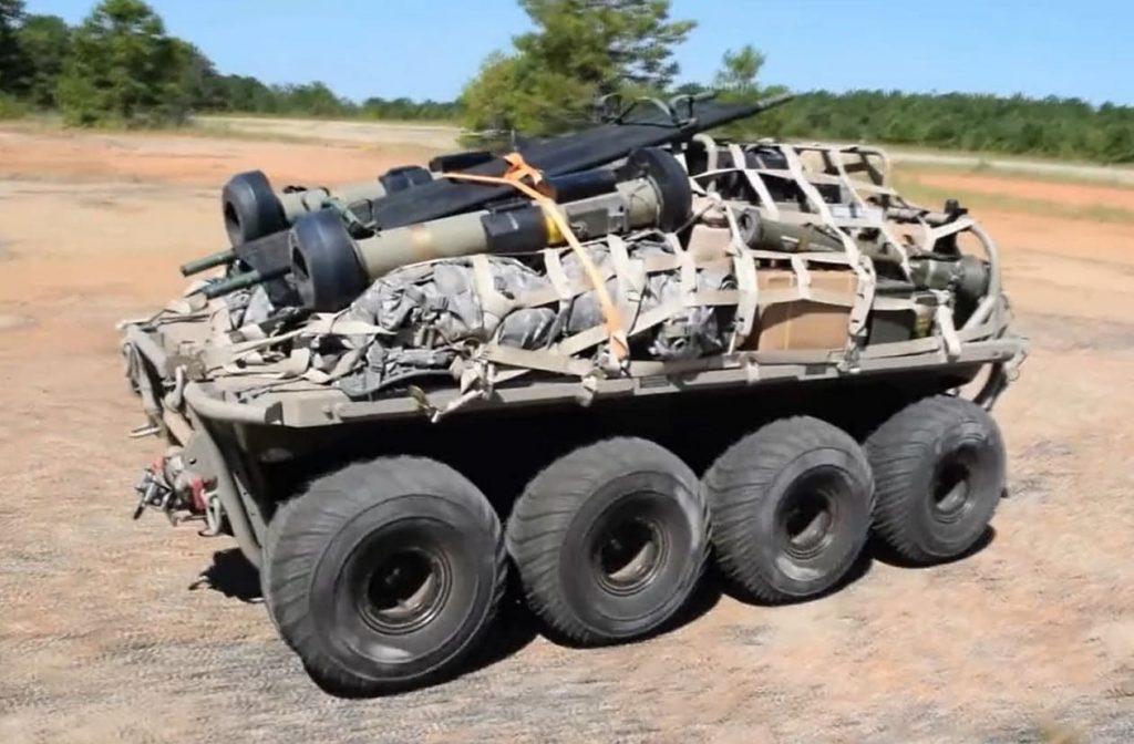 US Orders $162 Million Worth Of Unmanned Robotic Transport Platforms