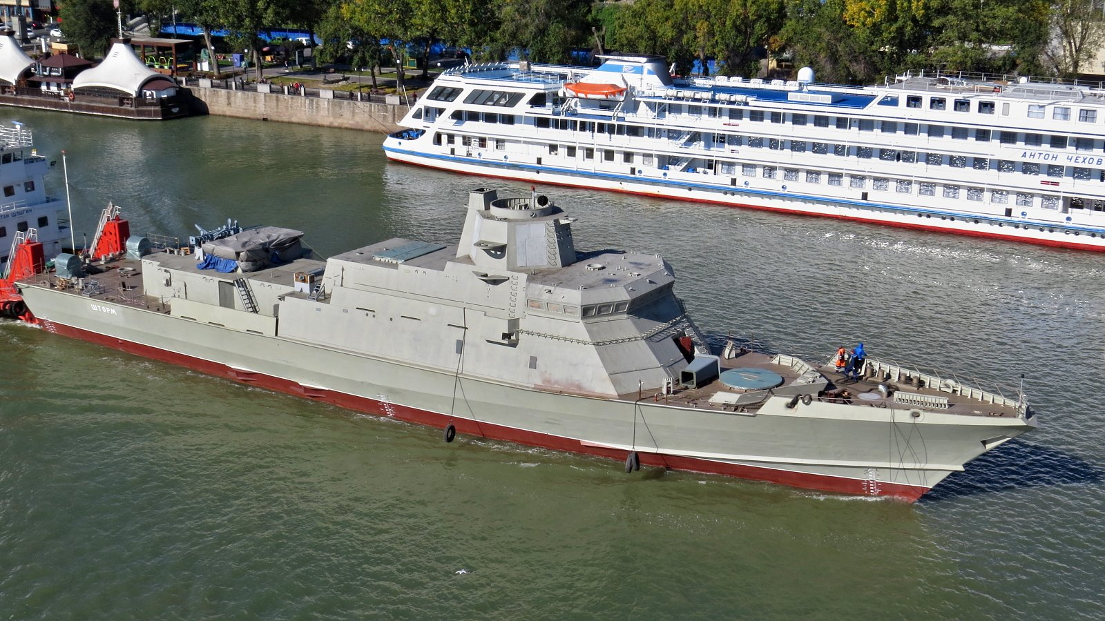 First Two Karakurt-Class Corvettes Produced In Crimea Launched To Sea