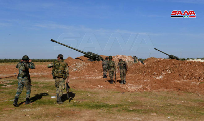 Syrian Army Strengthens Its Presence Near Manbij And al-Malikiyah (Photos)