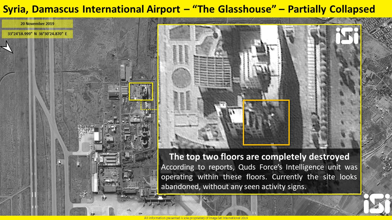 Satellite Images: Iranian Positions Targeted In Recent Israel Attack On Syria