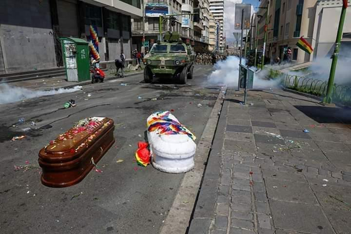 Bolivian Coup Government Struggles To Consolidate Power With Repressions And Violence