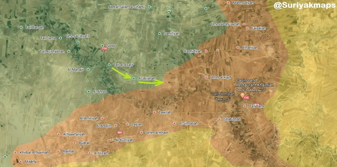 Syrian Army, SDF Jointly Besiege Turkish-backed Militants In Northern Al-Hasakah