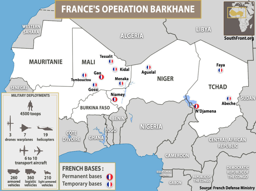 French Forces Permanently Deployed Outside Europe