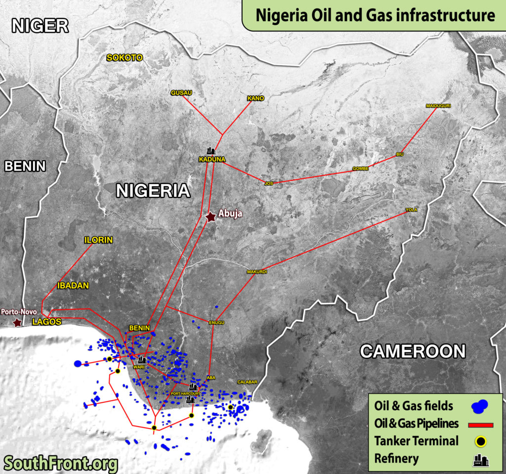 Nigeria Oil And Gas Infrastructure (Map Update)