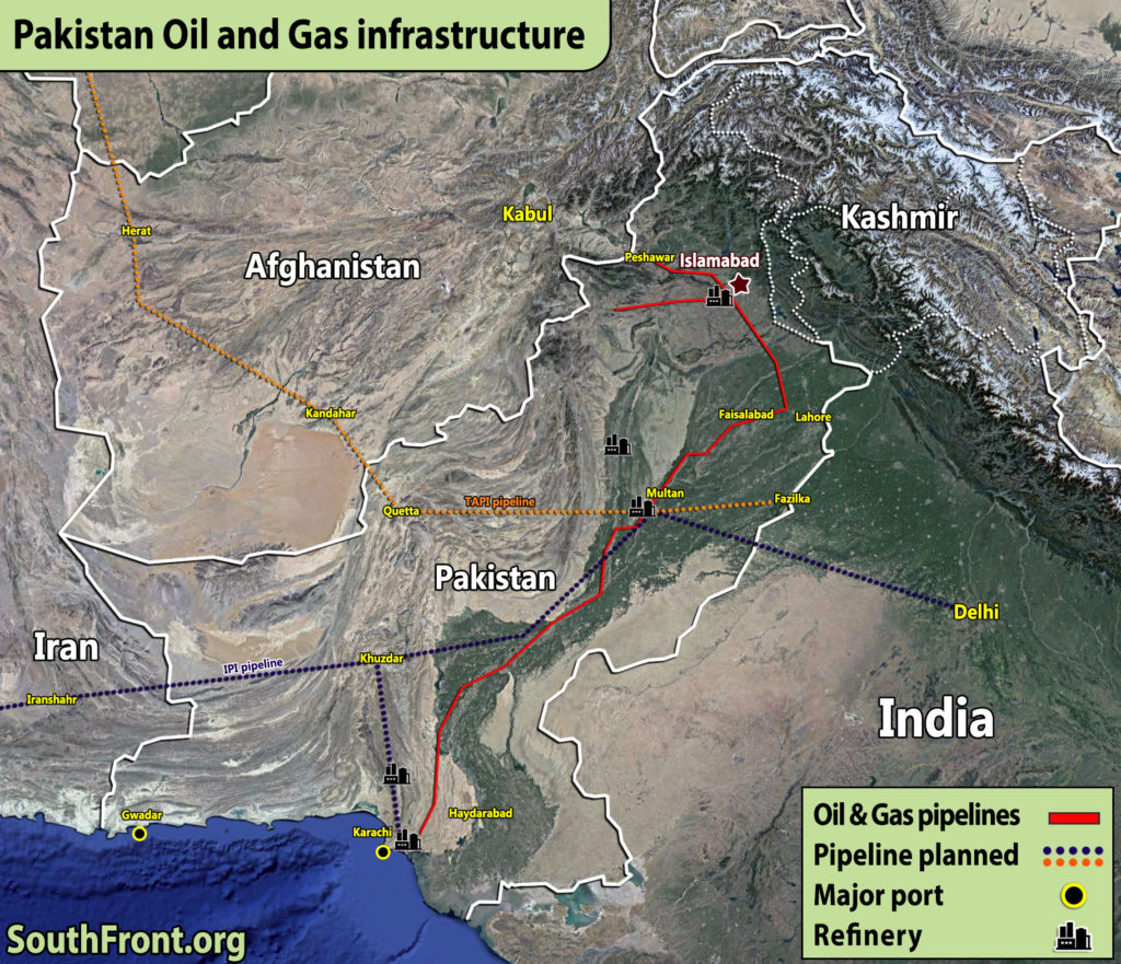 Pakistan Oil And Gas Infrastructure (Map Update)