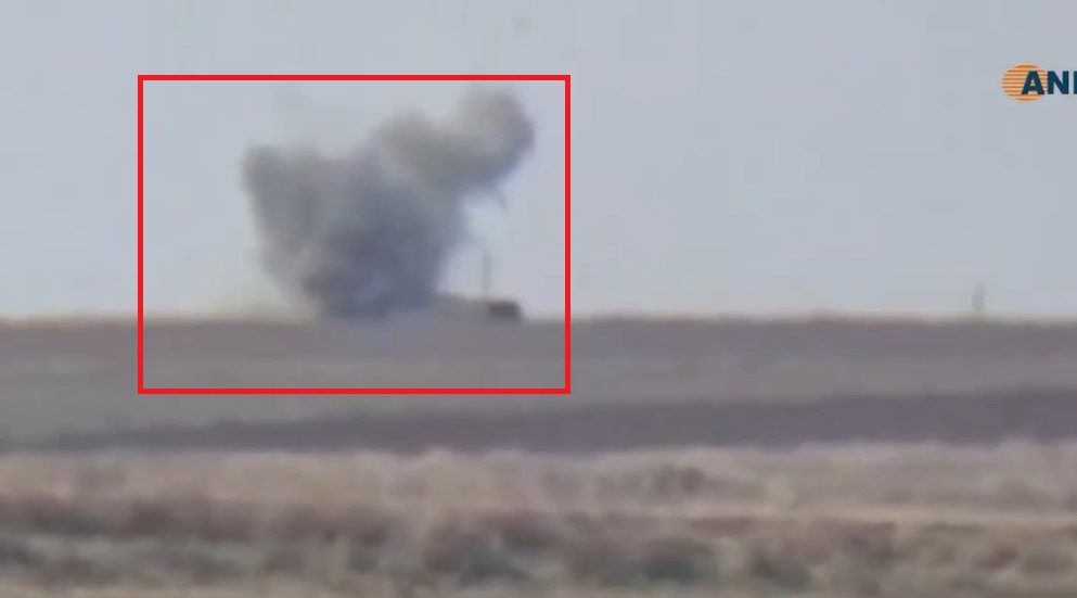 In Video: Kurdish Rebels Target Vehicle Of Turkish-led Forces Near Ras Al-Ayn Wth Guided Missile
