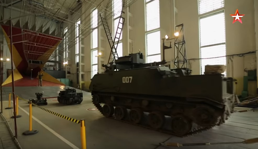 Russia Is Readying For Robot Wars