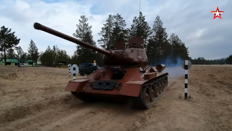 In Video: Restored WW2-era T-34 Tank Is Once Again In Action