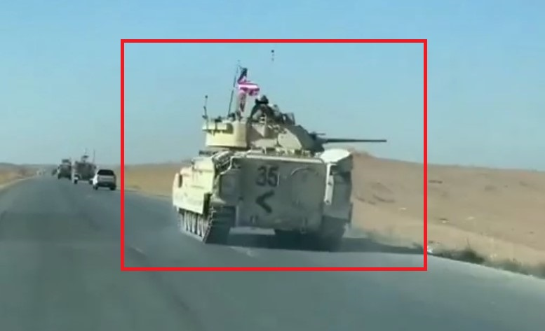U.S. Bradley Infantry Fighting Vehicles Spotted In Syria For First Time (Video)