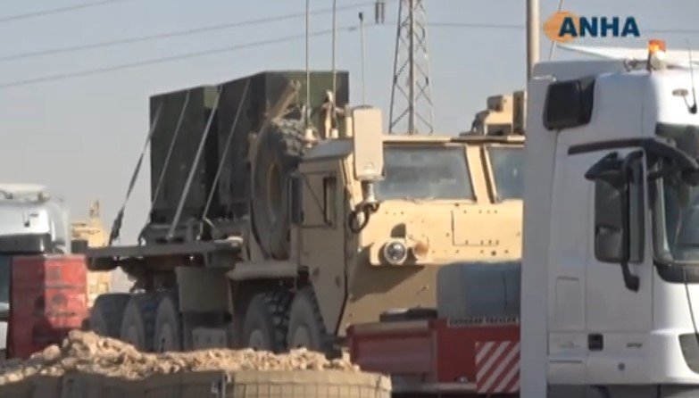 In Video: US Troops Continue Withdrawal From Sarin Base In Northeastern Syria