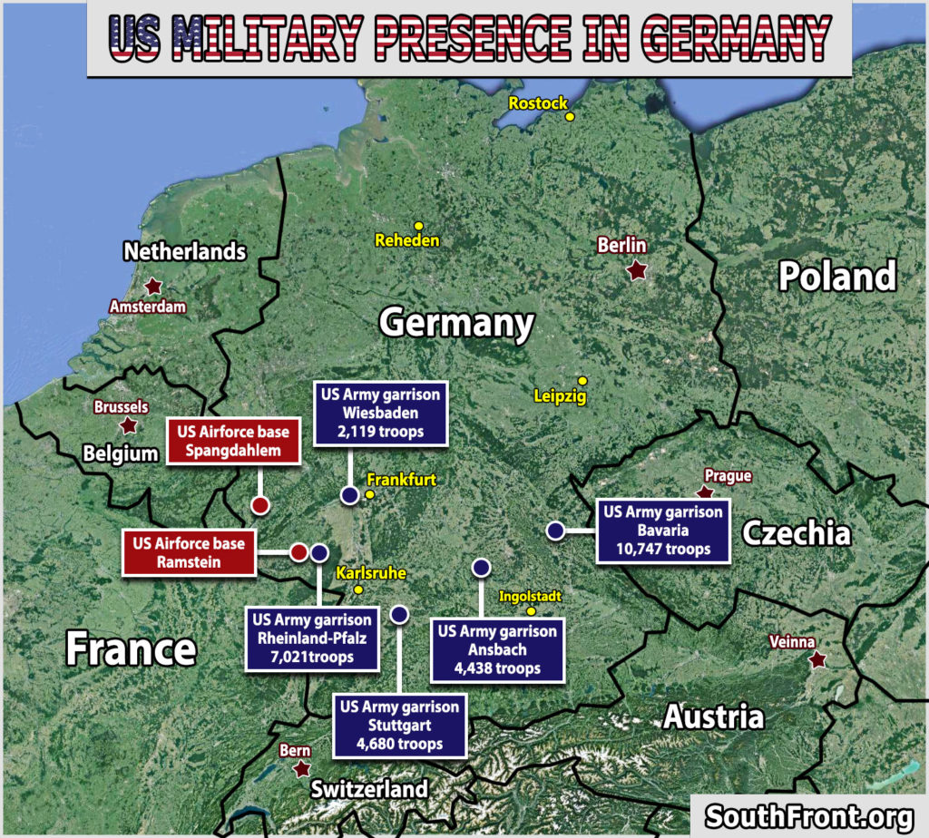 US Military Infrastructure In Germany (Map Update)