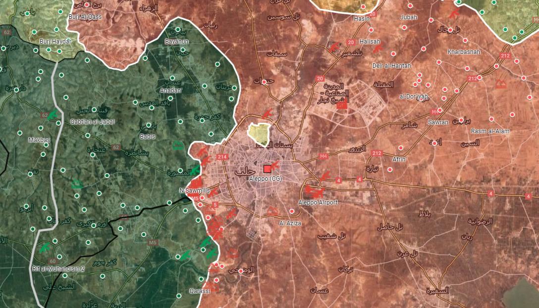 Sýrska Armáda Odpudzuje Útoku Militantov Na Aleppo je Západné Predmestia