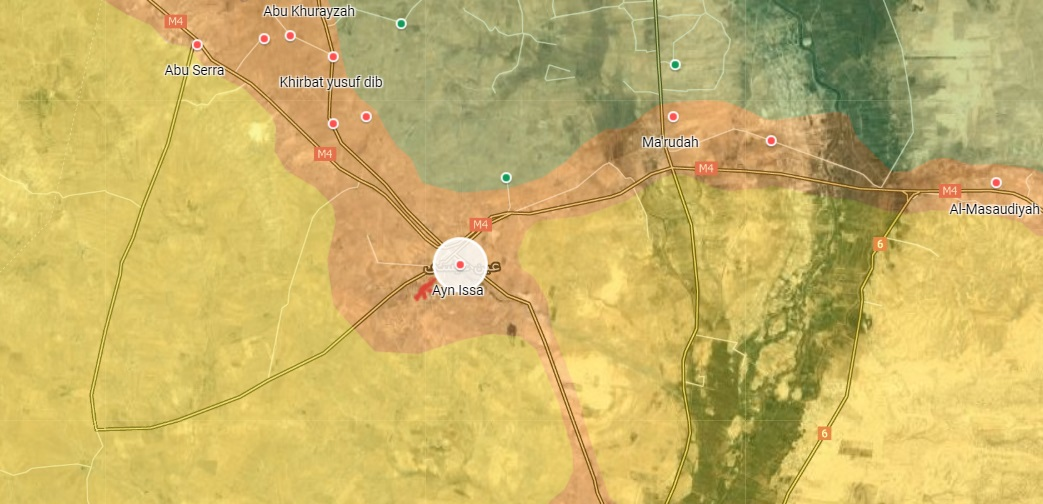 Russian Forces, Turkish-Backed Militants Exchange Artillery Fire In Northern Raqqa: Monitoring Group