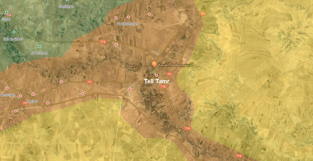 Kurdish-Turkish Clashes Continue Around Tell Tamr As Russian Troops Prepare To Deploy There