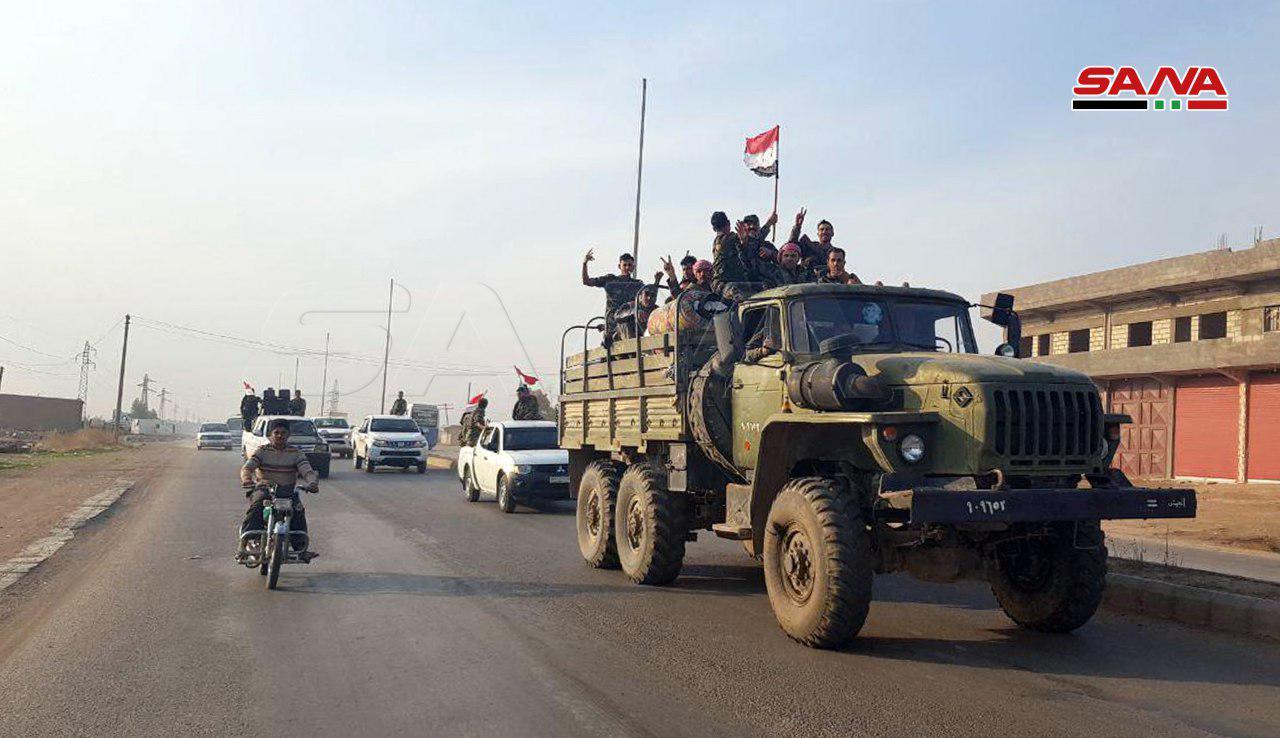 Syrian Army Enters Al-Hasakah's Northeastern Countryside (Photos)