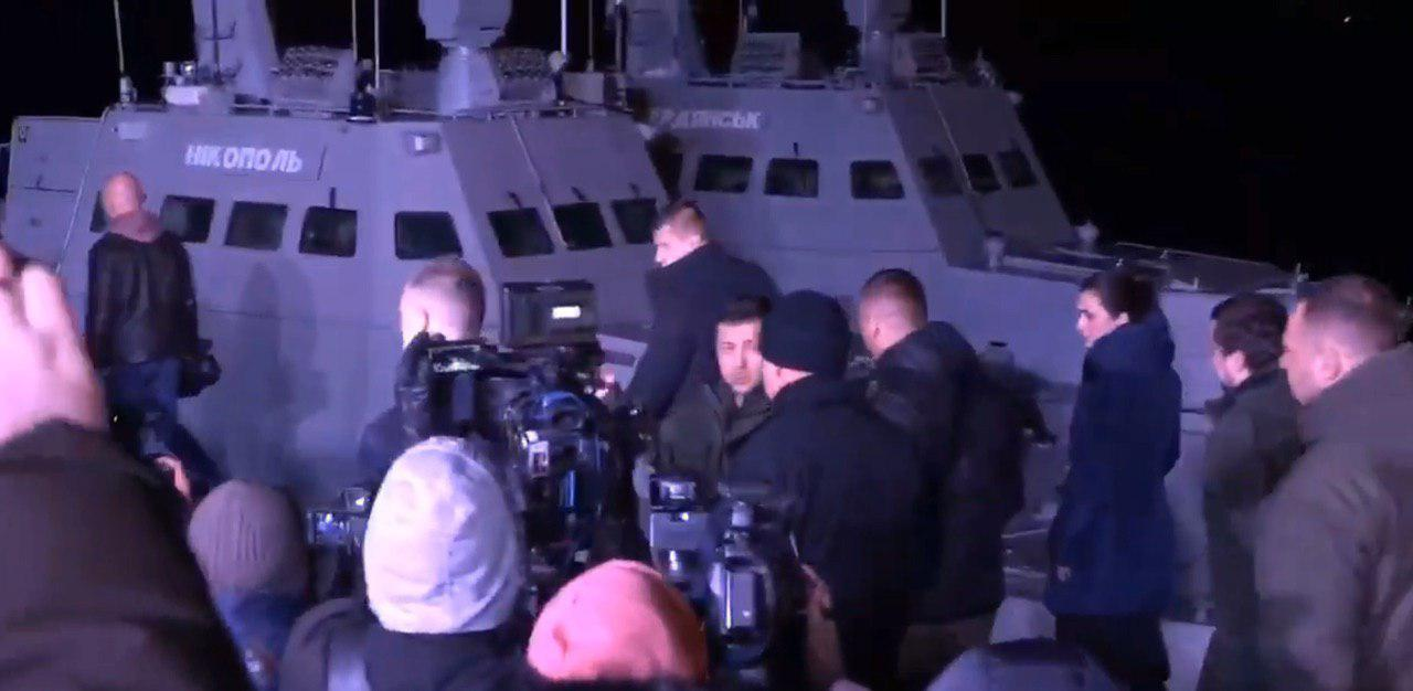 Russia-Released Ukrainian Ships Arrive In Ukraine