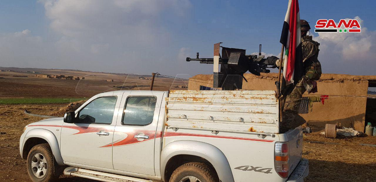 Syrian Army Establishes New Positions Along M4 Highway In Eastern Syria (Photos, Video)